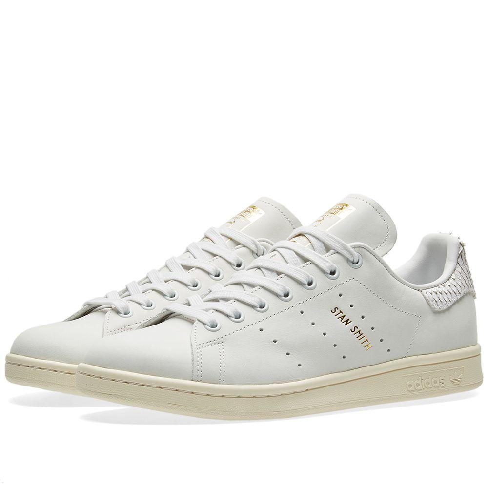 dd7686058ef Adidas Stan Smith W White   Metallic Gold