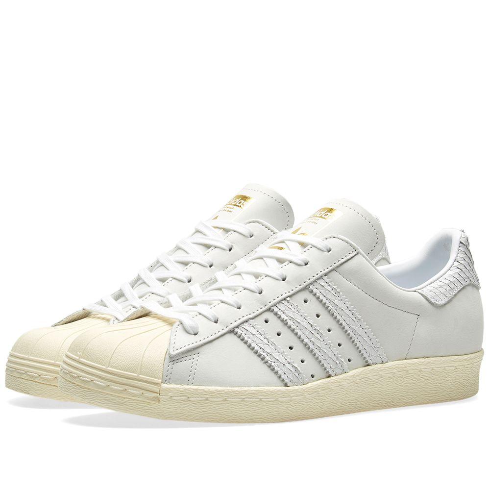 96fb4235e733 Adidas Superstar 80s W Light Grey   Cream White