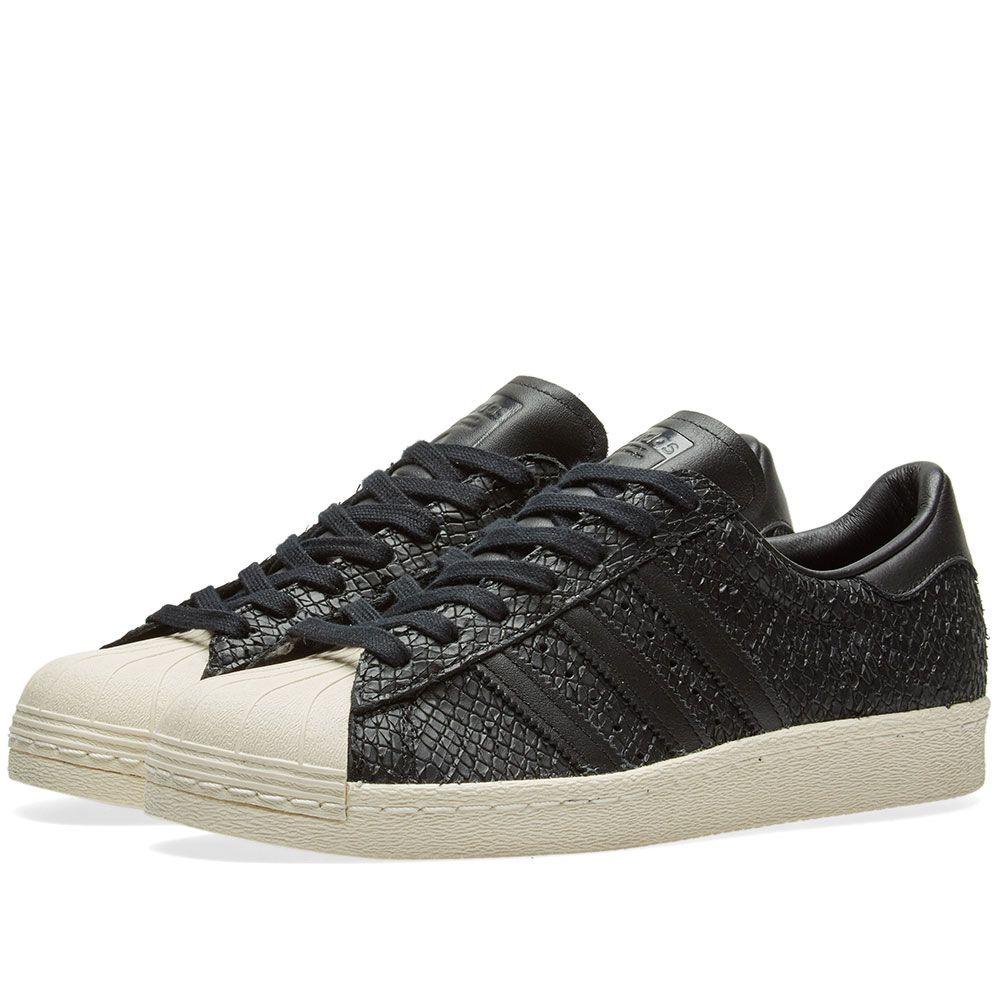 c30016514b23 Adidas Superstar 80s W Core Black   Off White