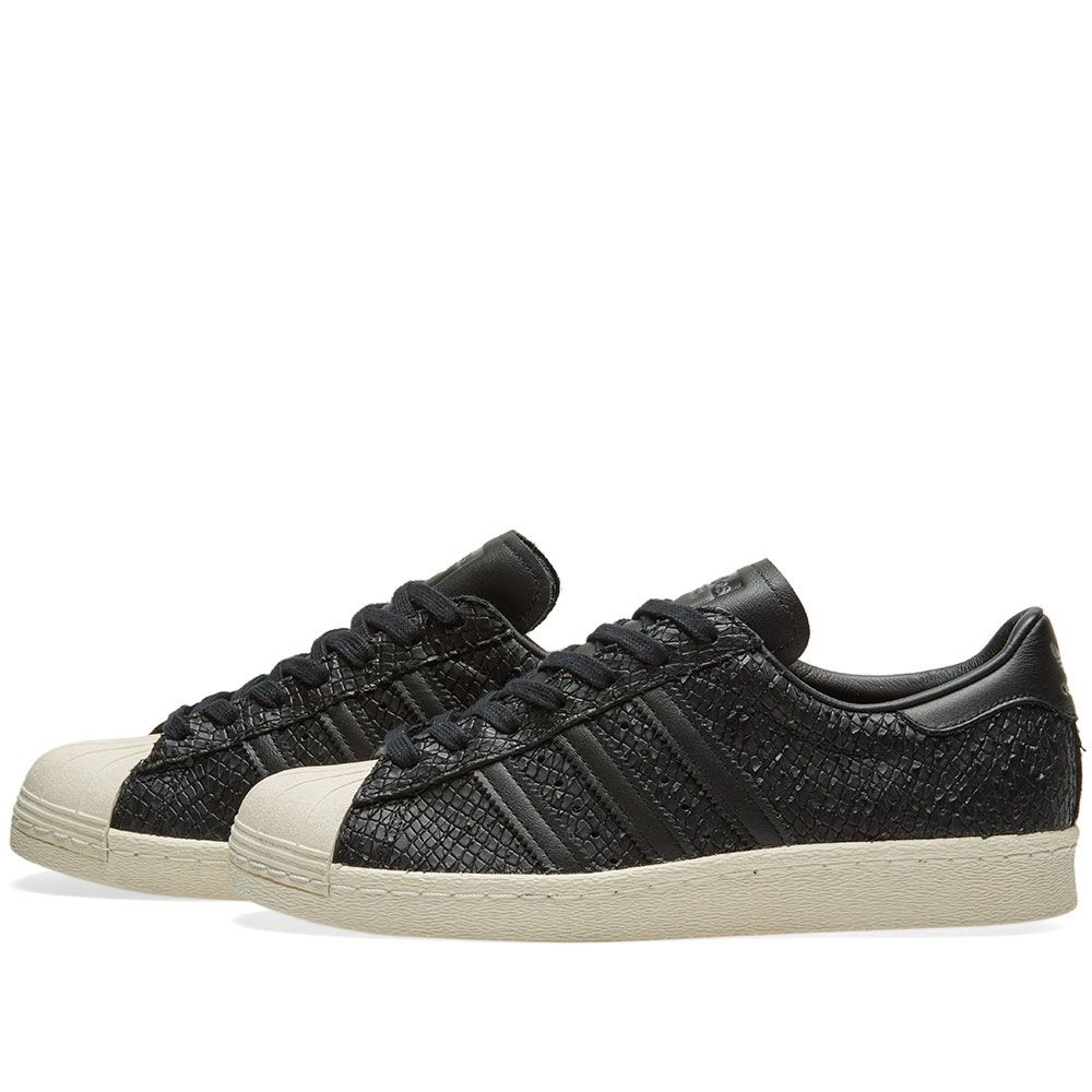 info for b2968 4cbc0 Adidas Superstar 80s W. Core Black  Off White