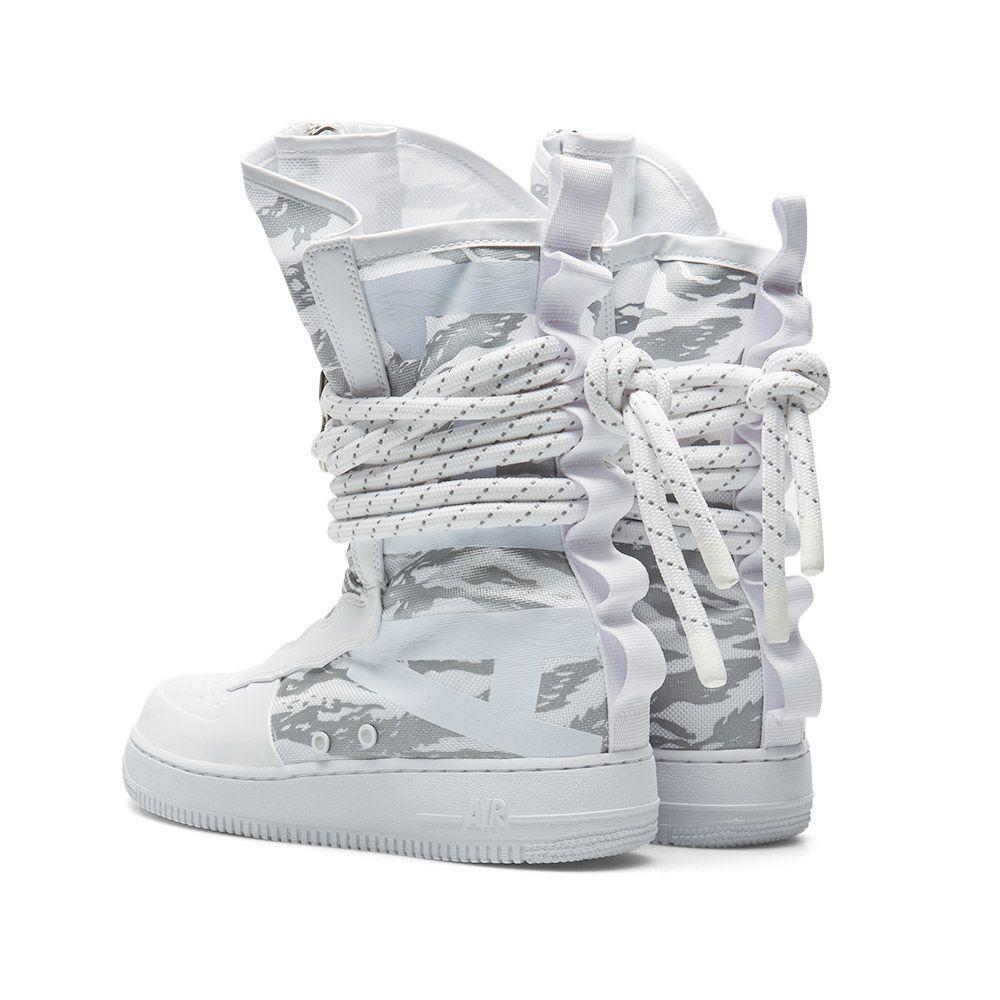 85b334a39af Nike SF Air Force 1 Hi Ibex White