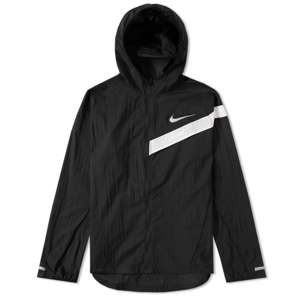 67693d64d725 Nike Impossibly Light Running Jacket Black   White