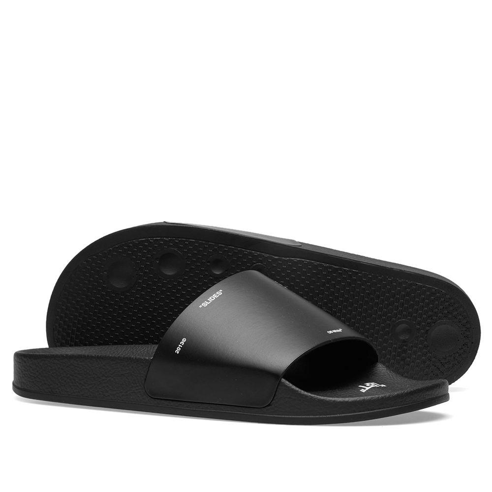 e9678f843a0cb0 Off-White Off Corporate Slider Black