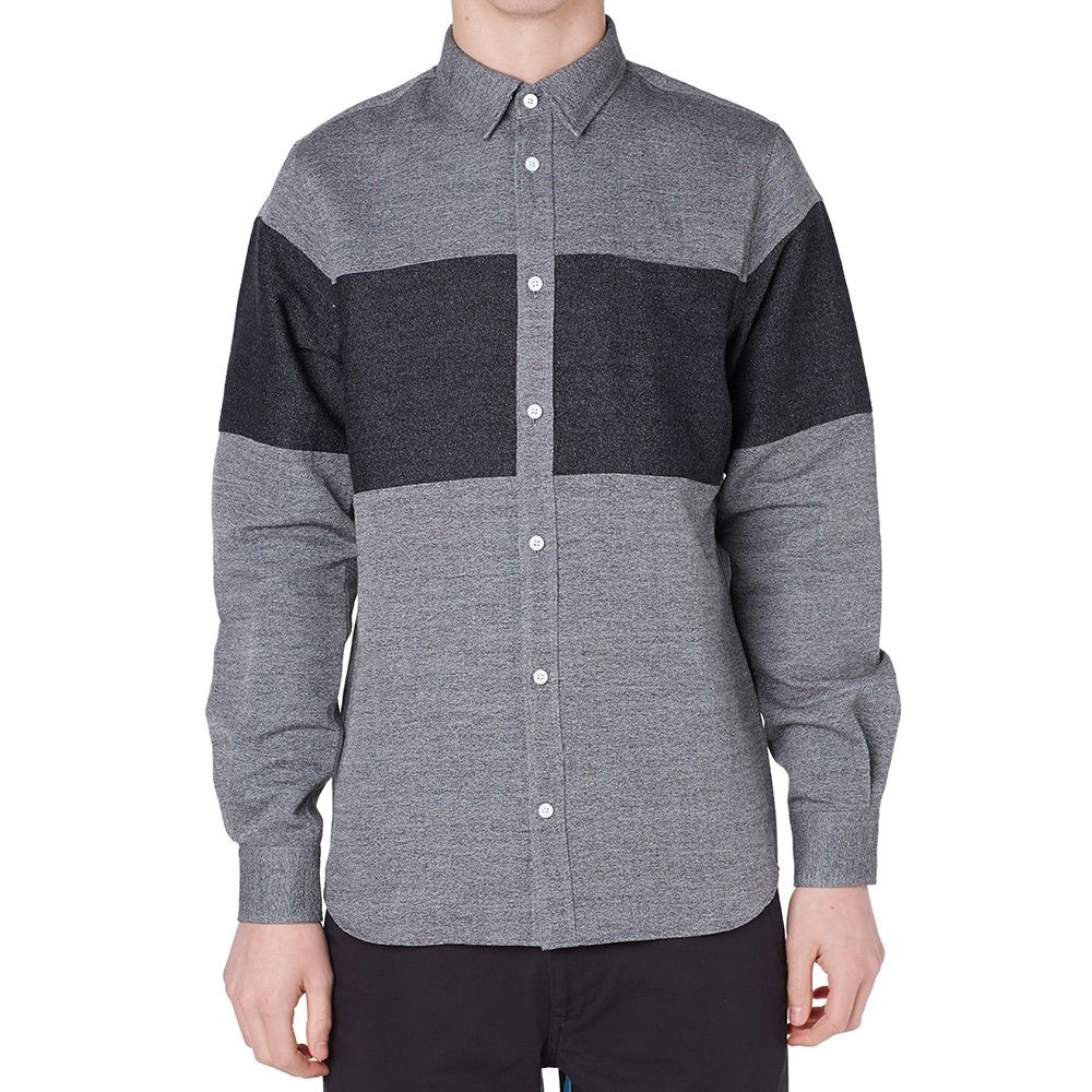 209af7d4344 Norse Projects Anton Speckled Shirt Mouse Grey