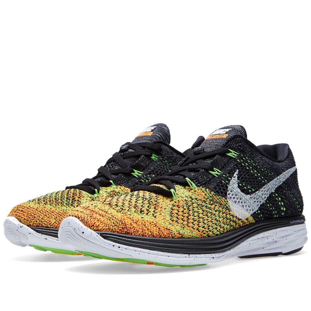 3365299aaef Nike Flyknit Lunar 3 Black