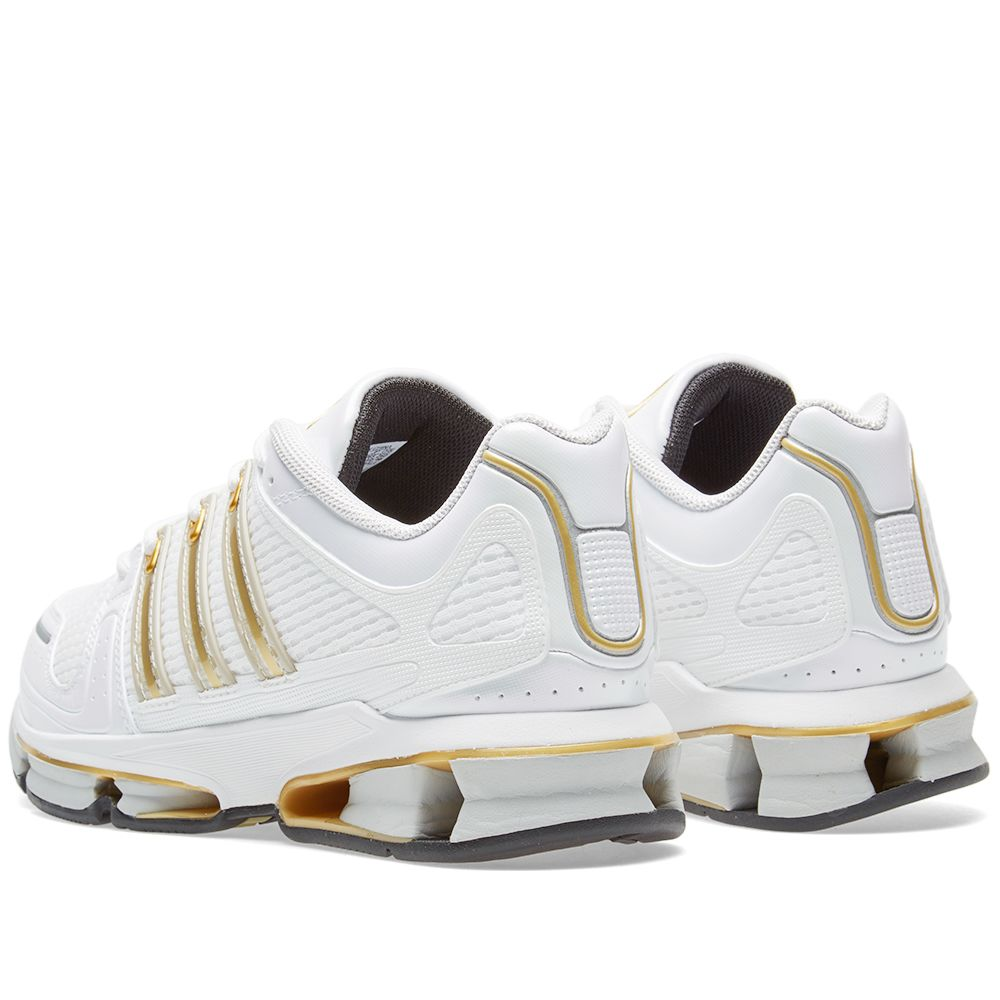 new style 24a84 c5f38 Adidas A3 Twinstrike White  Gold Metallic  END.