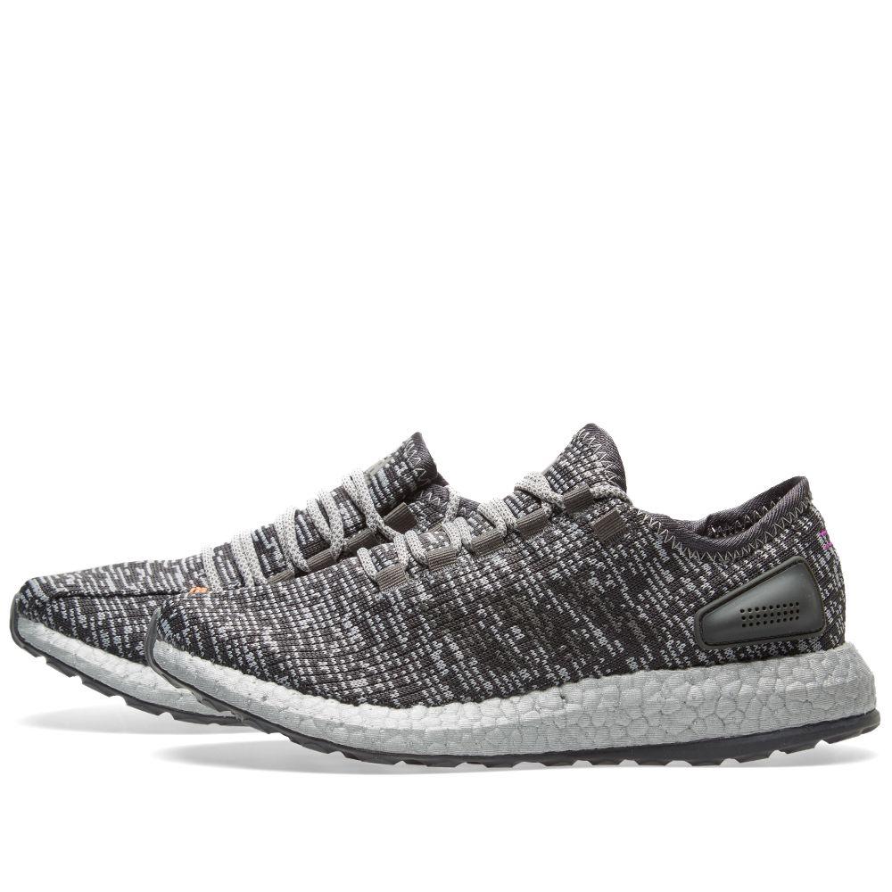 ba8fcaf89a80e Adidas Pure Boost Ltd Dark Grey Heather   Solid Grey