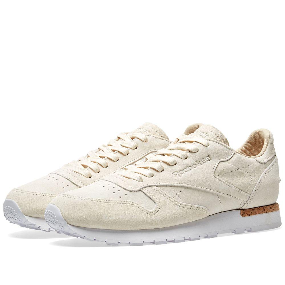 fafcfc18cbc Reebok Classic Leather LST Classic White   Paper White