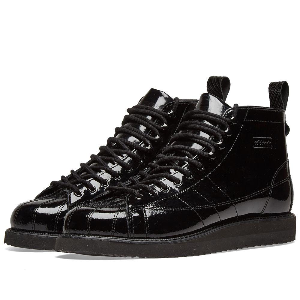 67eef8618fc588 Adidas Superstar Boot W Core Black   Collegiate Purple
