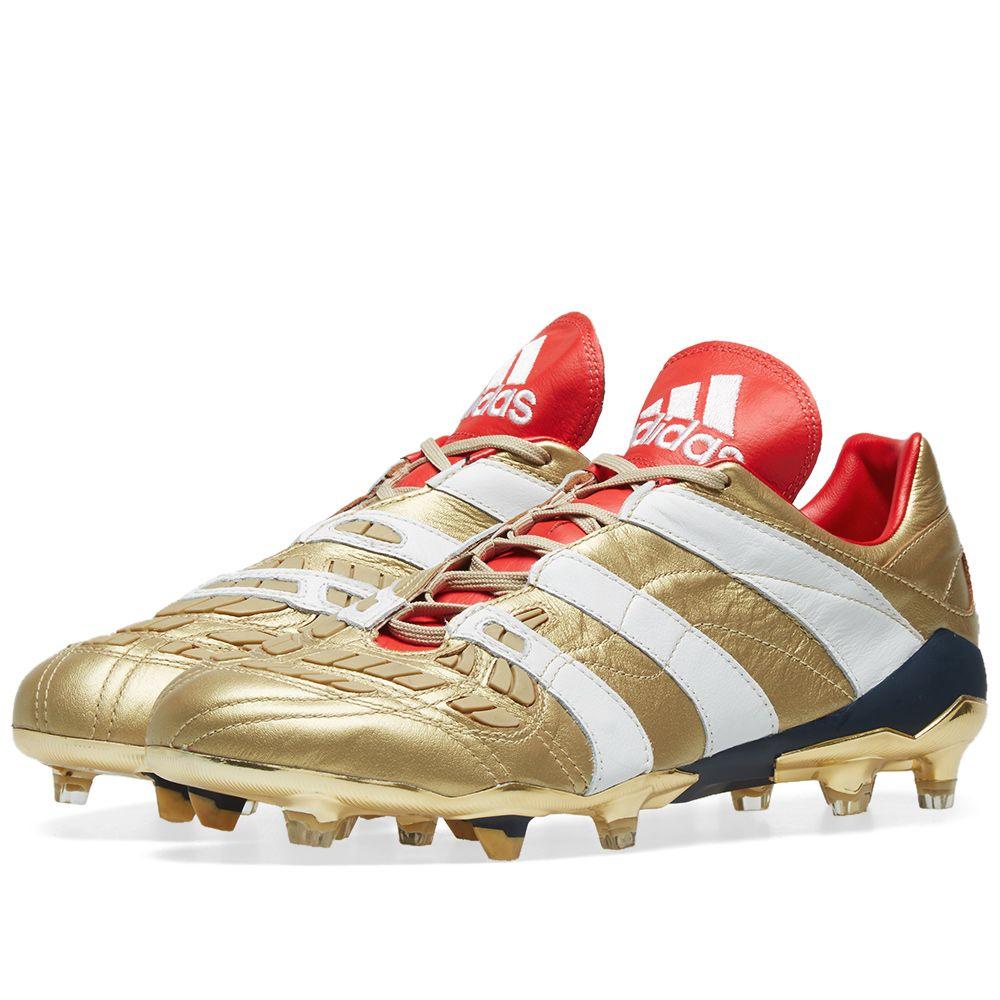 0b04860d9cdb Adidas Consortium Beckham x Zidane Predator Accelerator FG ZZ Gold ...