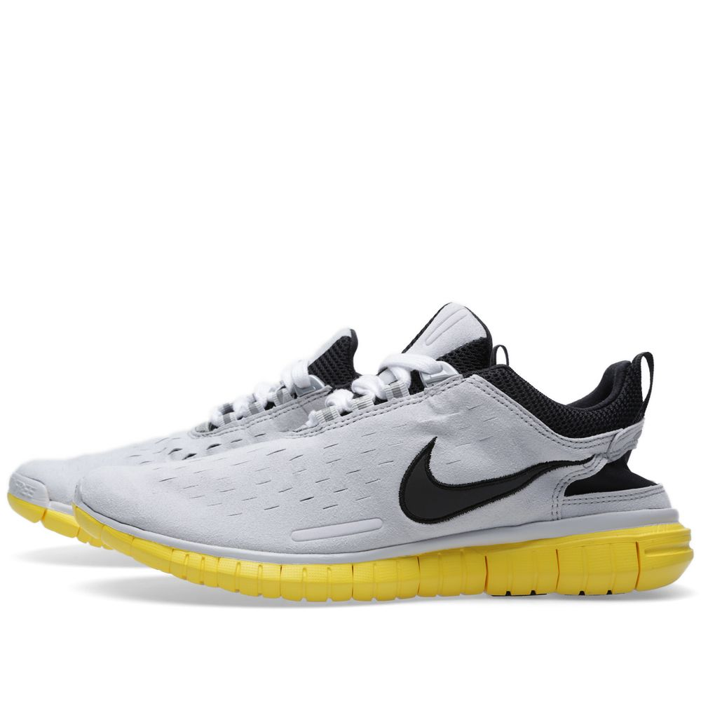 low priced 7645e 9ca8b Nike Free Superior OG. Neutral Grey   Chrome Yellow.  119  79. image