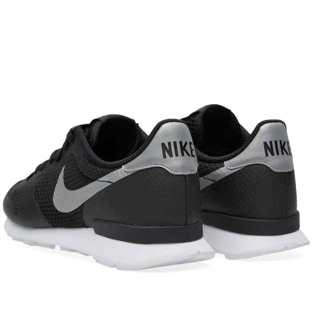 san francisco 08e9e 81f06 Nike Internationalist NS. Black  Metallic Silver. 99 65. image