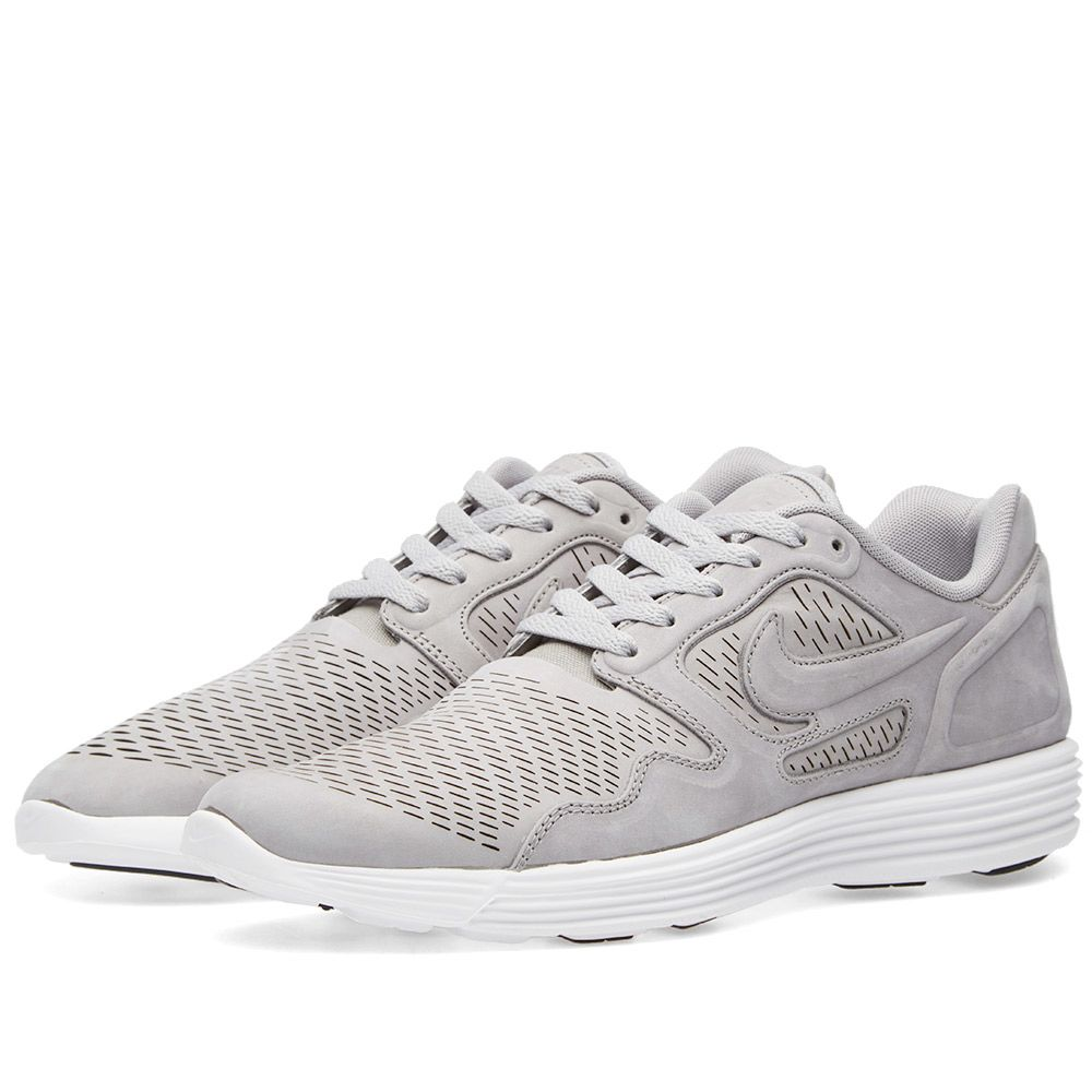 huge selection of 49b5f 17cd7 Nike Lunar Flow Laser Premium Medium Grey   White   END.
