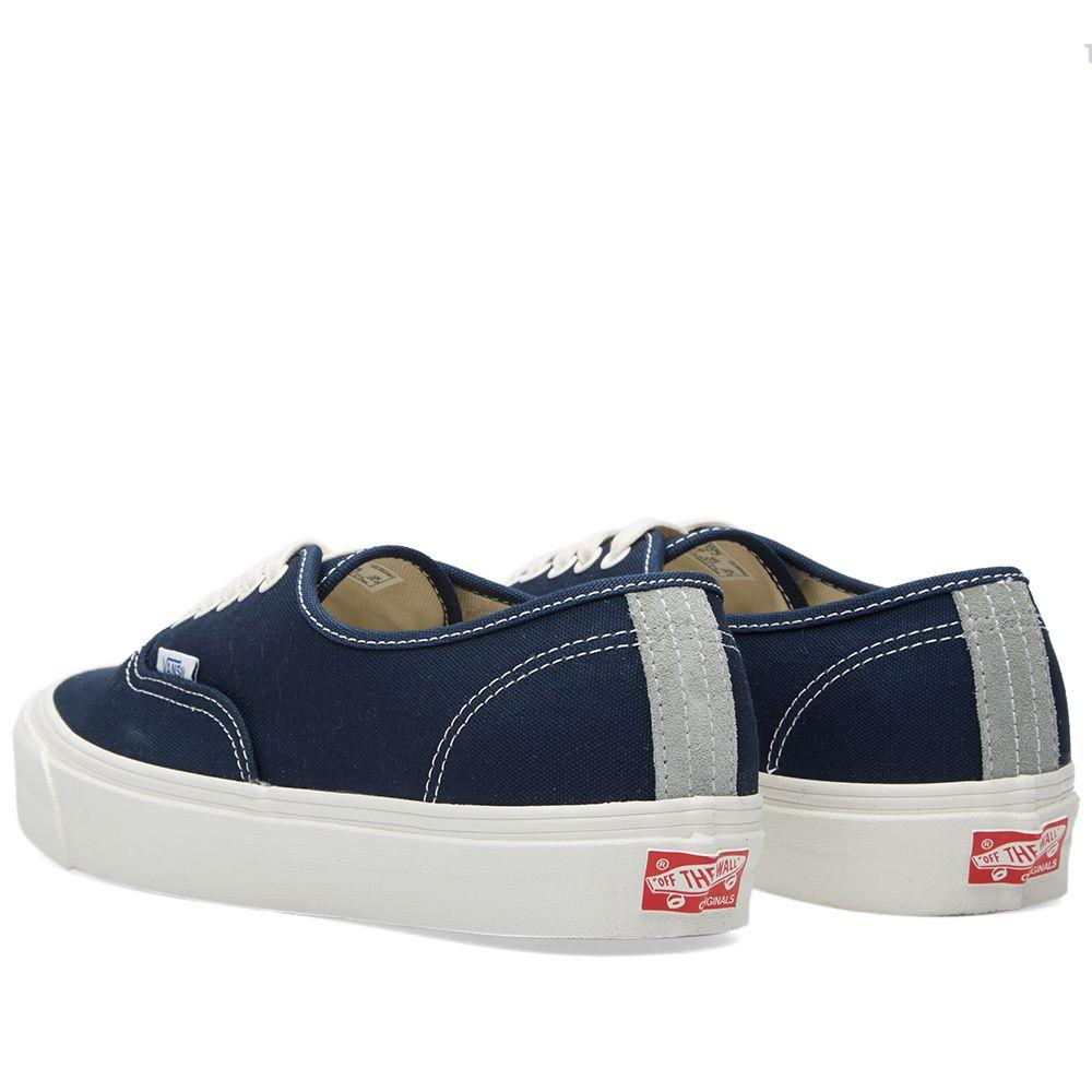 60e4252244 Vans Vault OG Authentic LX Dress Blues   Iron