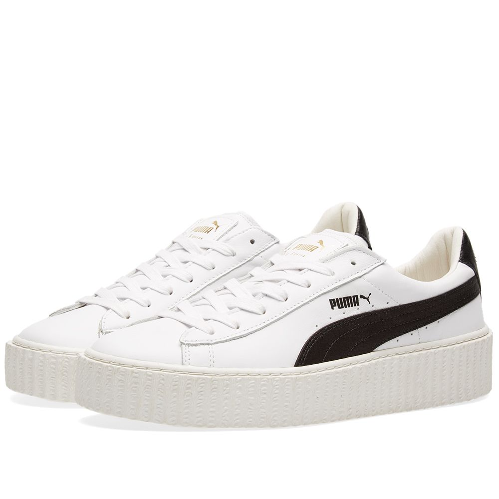 Puma x Fenty by Rihanna Cracked Creeper. White.  135. image 480629c6ddd1