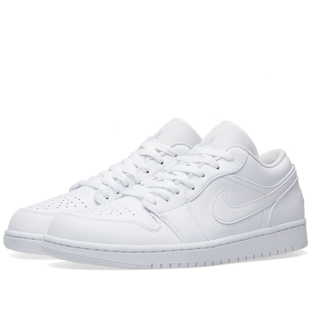 Air Jordan 1 Low White   Pure Platinum  90e5f6584