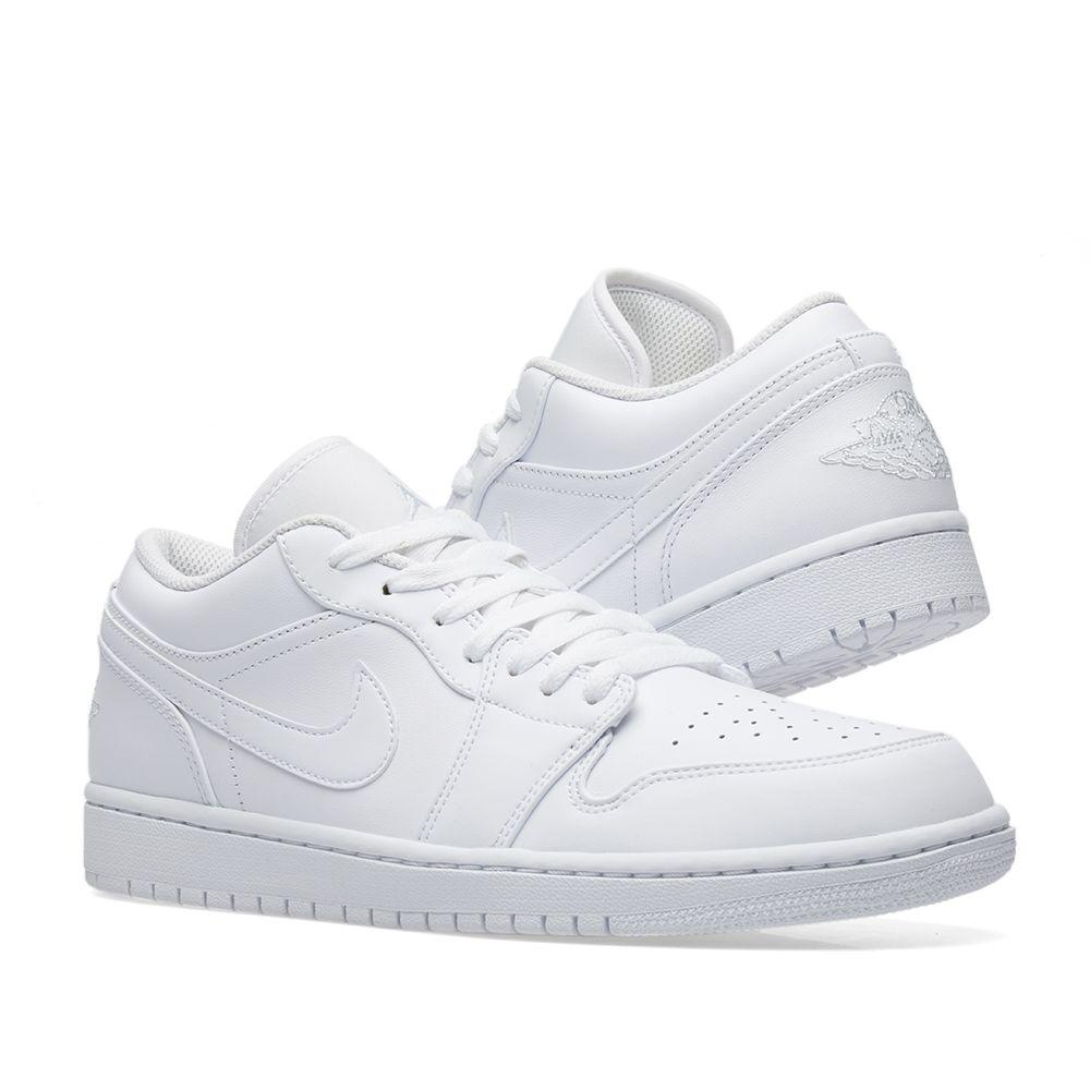 0b37f5457d5e Air Jordan 1 Low White   Pure Platinum