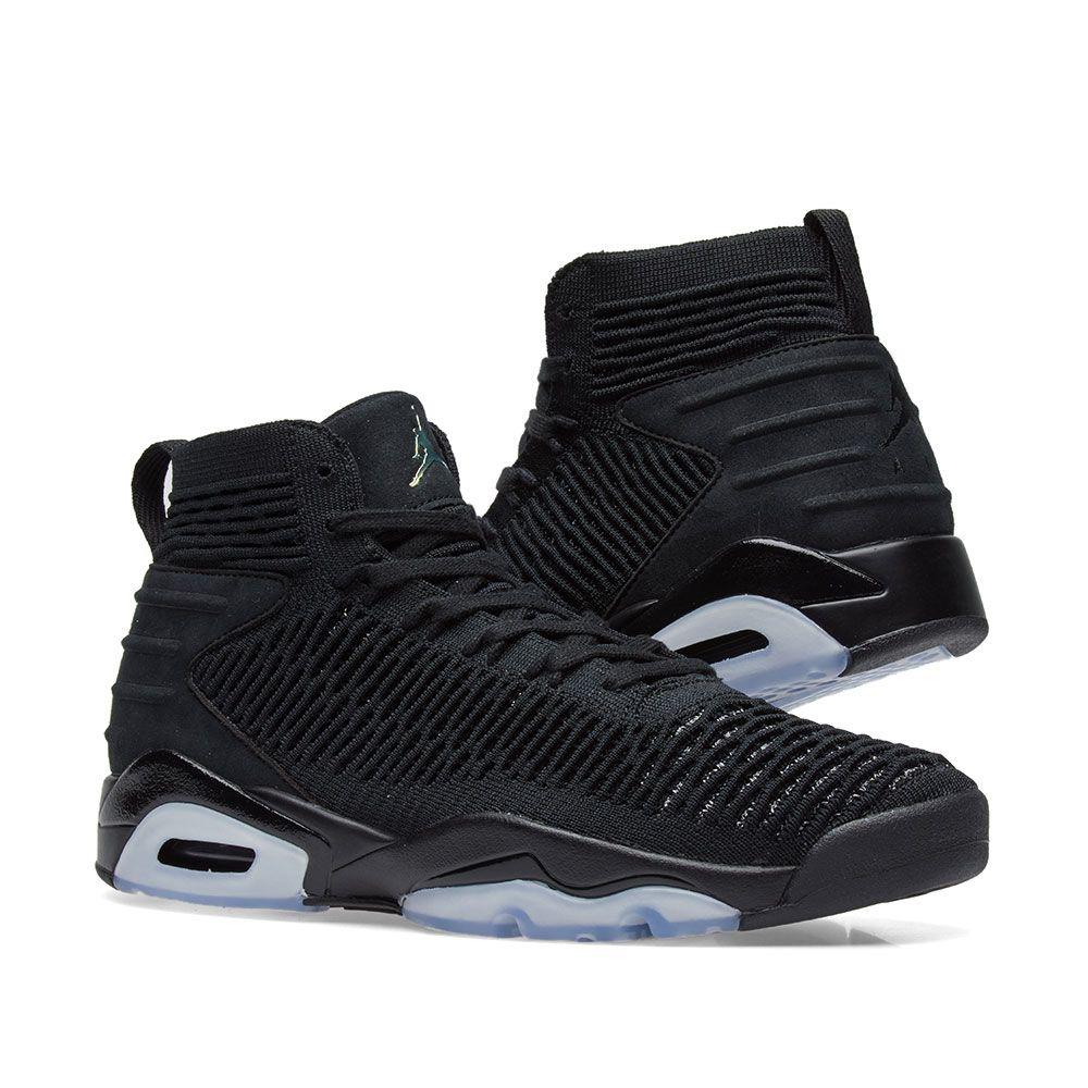 release date: 65da1 d1623 Air Jordan Flyknit Elevation 23. Black   Metallic Silver