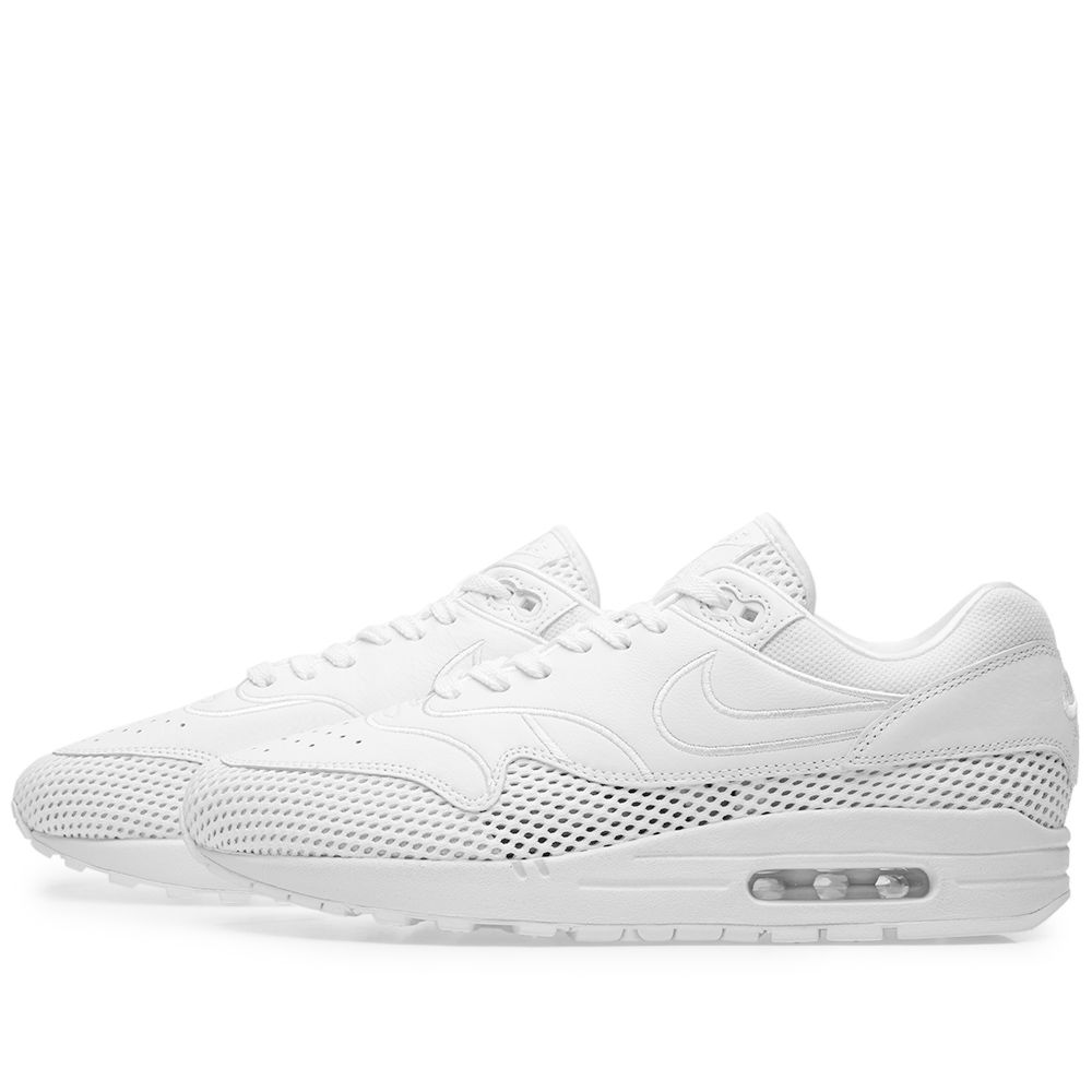 lowest price c1d44 3a196 Nike Air Max 1 SI W White   Vast Grey   END.