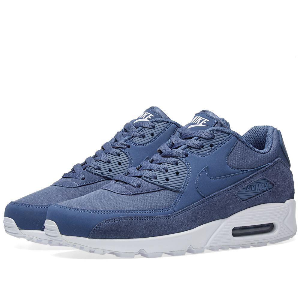 af4297a53b56 Nike Air Max 90 Essential Diffused Blue   White