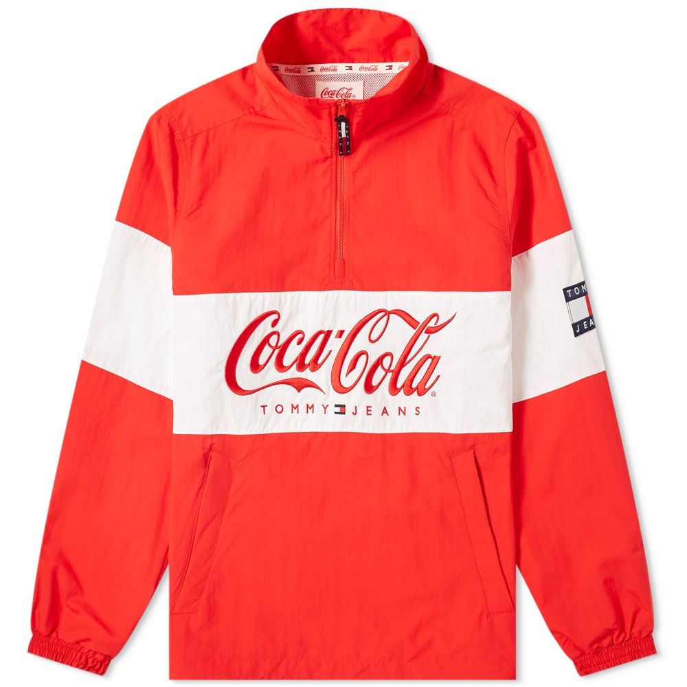 Tommy Jeans X Coca Cola Jacket by Tommy Jeans