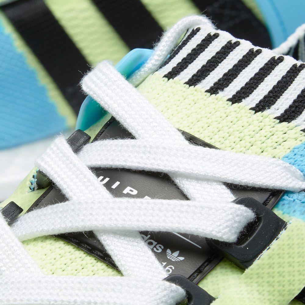 sports shoes 2d44c afc84 Adidas EQT Support Ultra PK Frozen Yellow  Core Black  END.