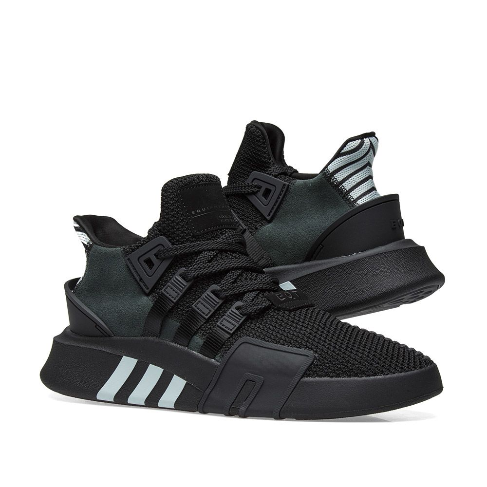 0df8da8bf4c333 Adidas EQT Bask ADV Black   Blue Tint