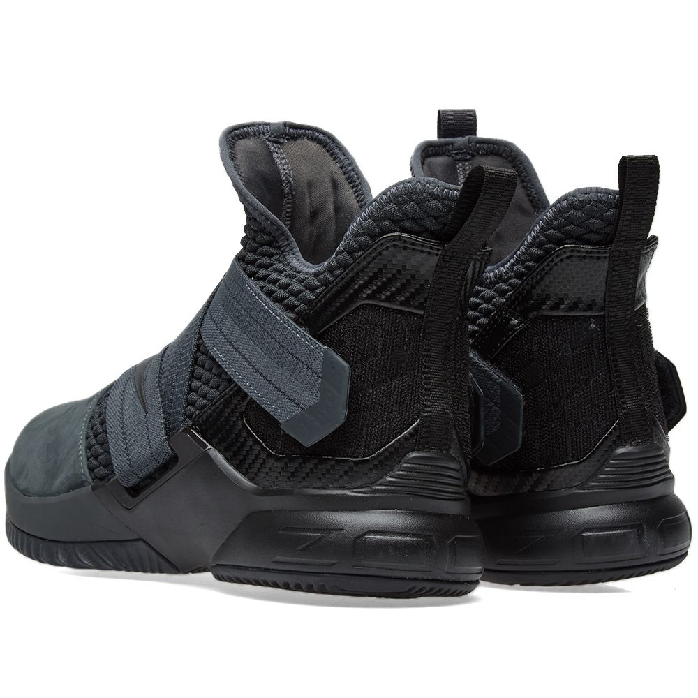 7a5381df3145 Nike Lebron Soldier XII SFG Anthracite   Black