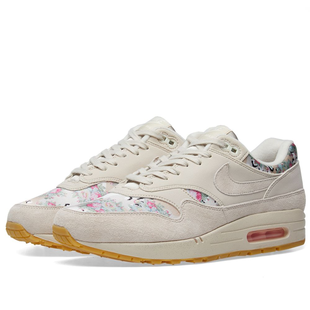 sale retailer 781c5 6ec73 Nike Air Max 1 W Floral Camo Desert Sand, Gum  Light Brown