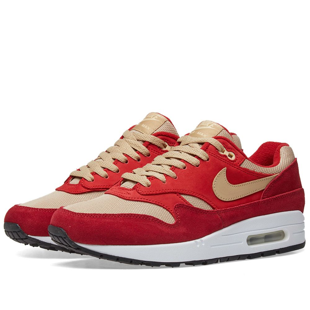 93187665d Nike Air Max 1 Premium Retro Red