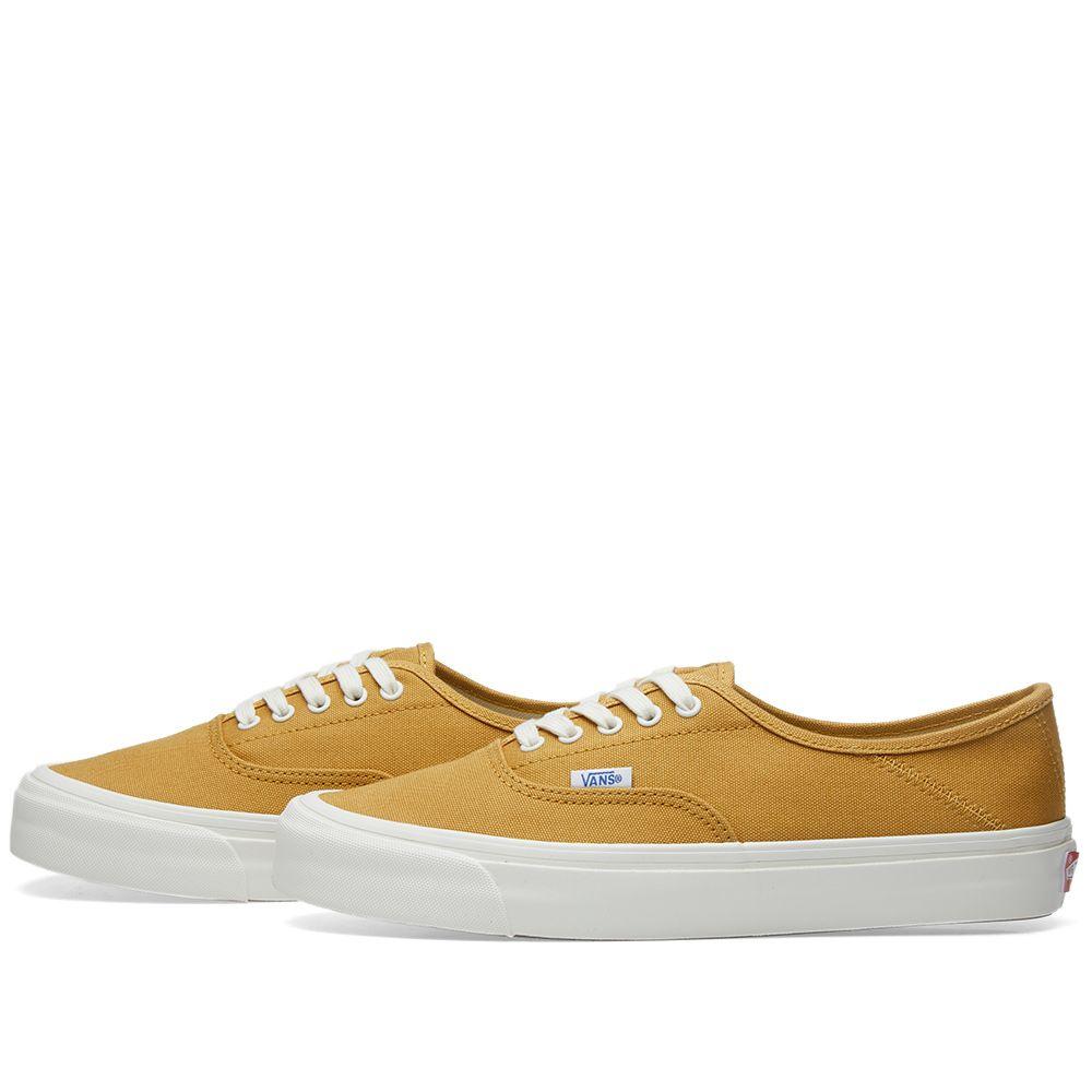 15bc18c42c8b Vans Vault OG Style 43 LX Honey Mustard   Marshmallow