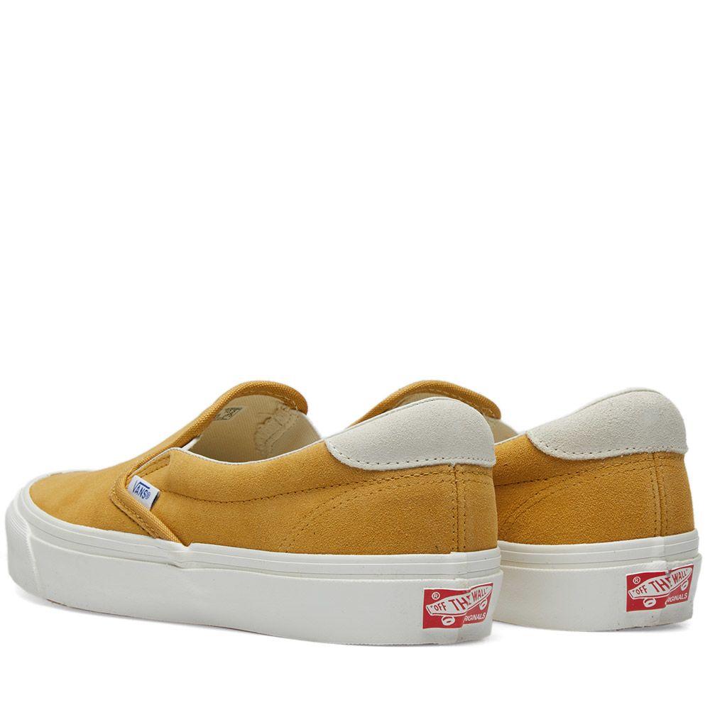 65d8e386e549 Vans Vault OG Slip On 59 LX Honey Mustard   Marshmallow