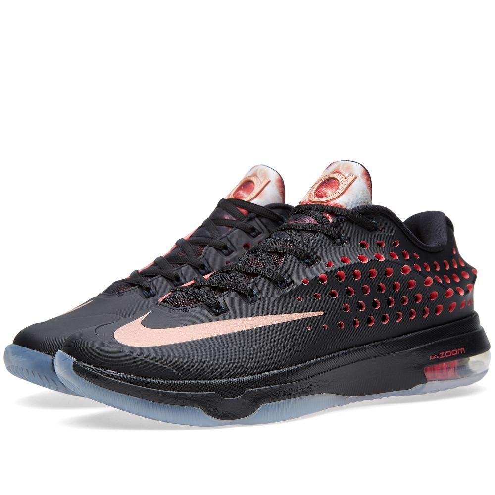 13723259b010 Nike KD VII Elite  Rose Gold  Black   Metallic Red Bronze