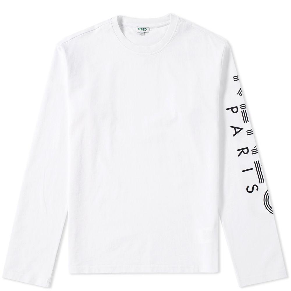dd506d2e Kenzo Long Sleeve Arm Logo Tee. White. CA$165 CA$105. image