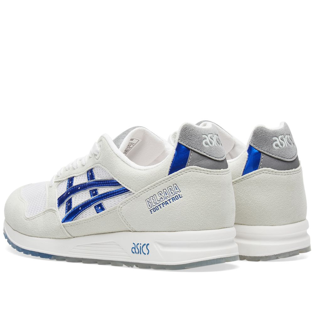 5521e2defe1a Asics x Footpatrol Gel Saga Titanium Grey   Iridium Blue