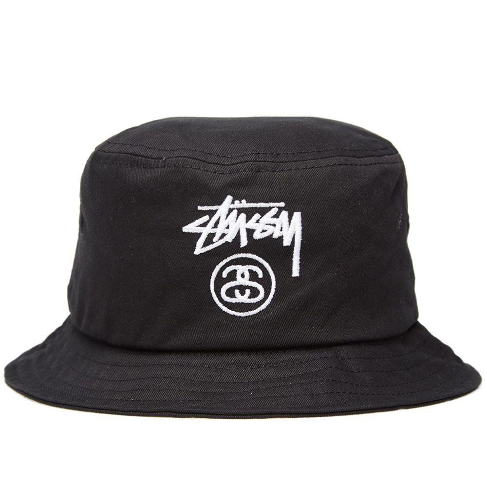 f46b5000c80 Stussy Stock Lock FA14 Bucket Hat Black