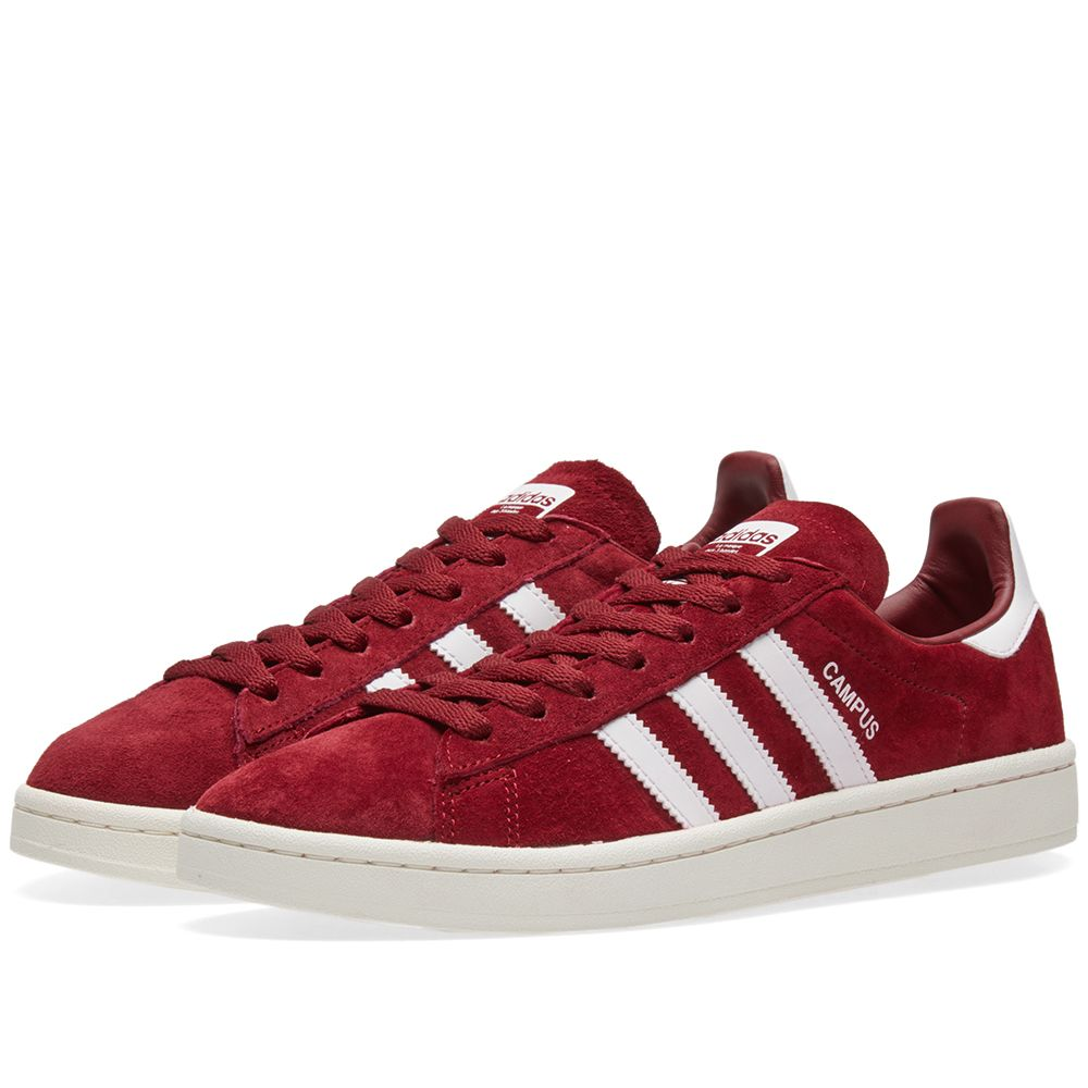 check out 4f85d 994ff Adidas Campus. Collegiate Burgundy  White. S115 S75. image