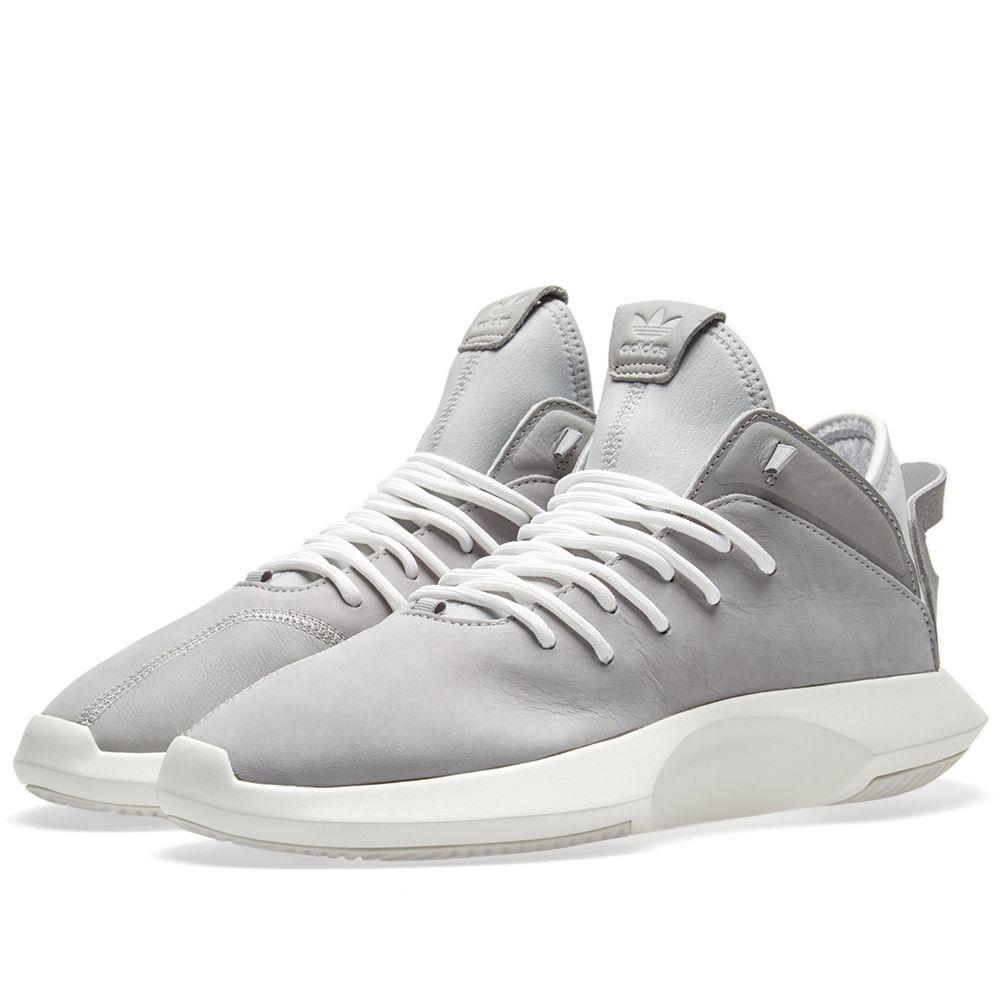brand new 564ea 3bfae Adidas Crazy 1 ADV Grey  White  END.