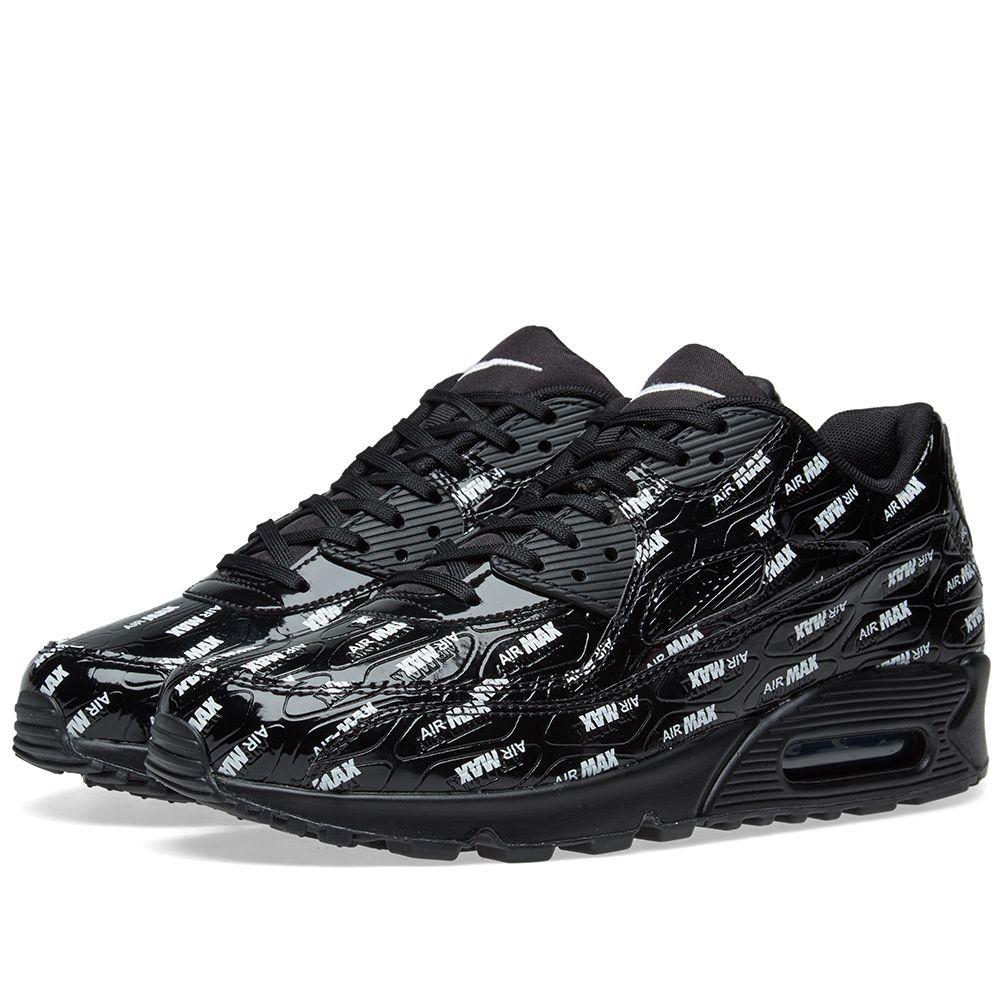 a30385c990633 Nike Air Max 90 Premium Black   White