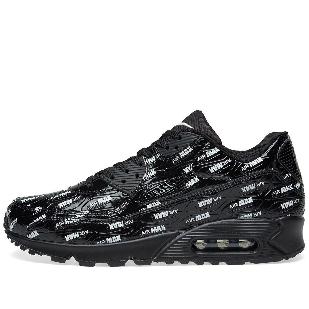 Nike Air Max 90 Premium Black   White  33926b922