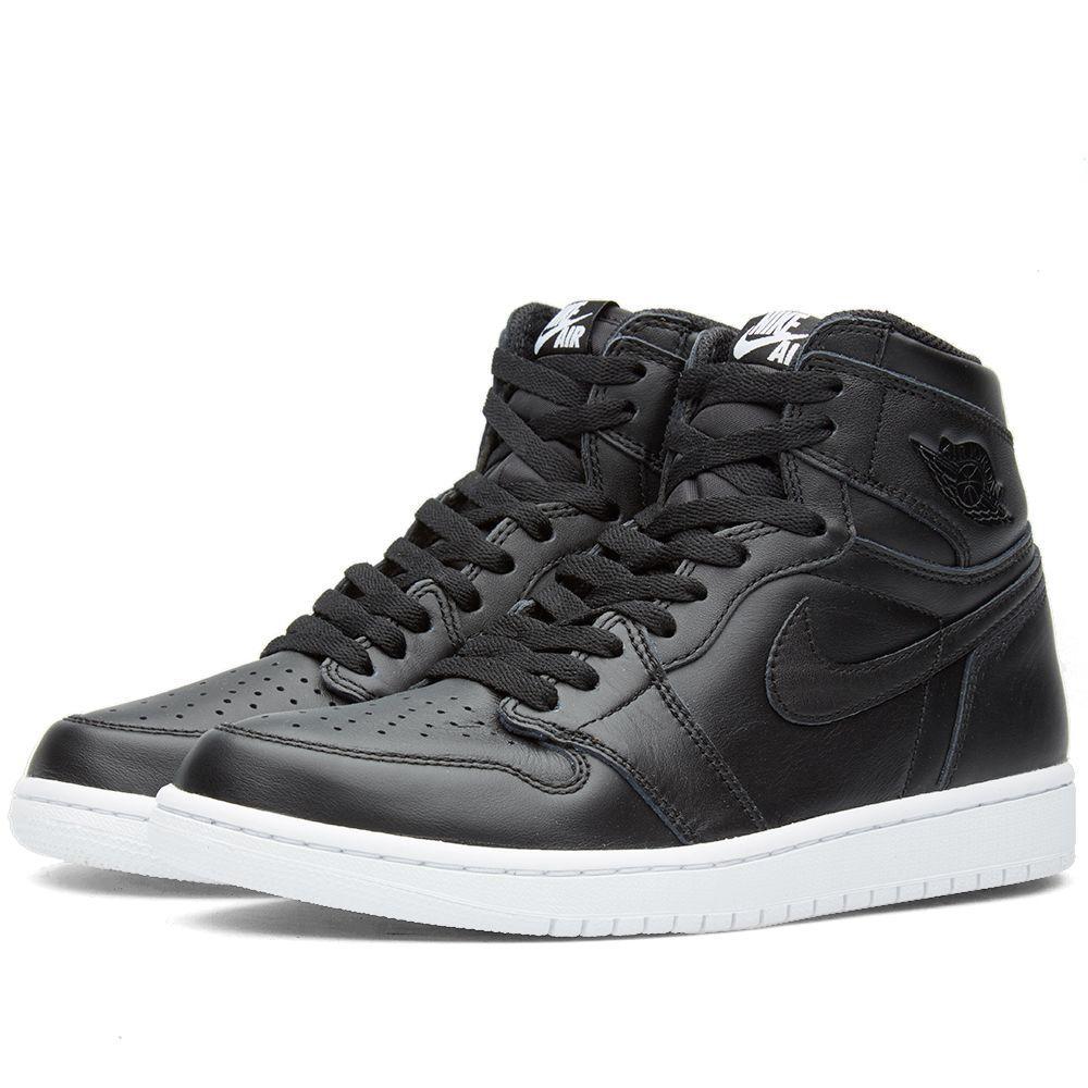 Nike Air Jordan I Retro High OG. Black   White.  145. image f0842adff
