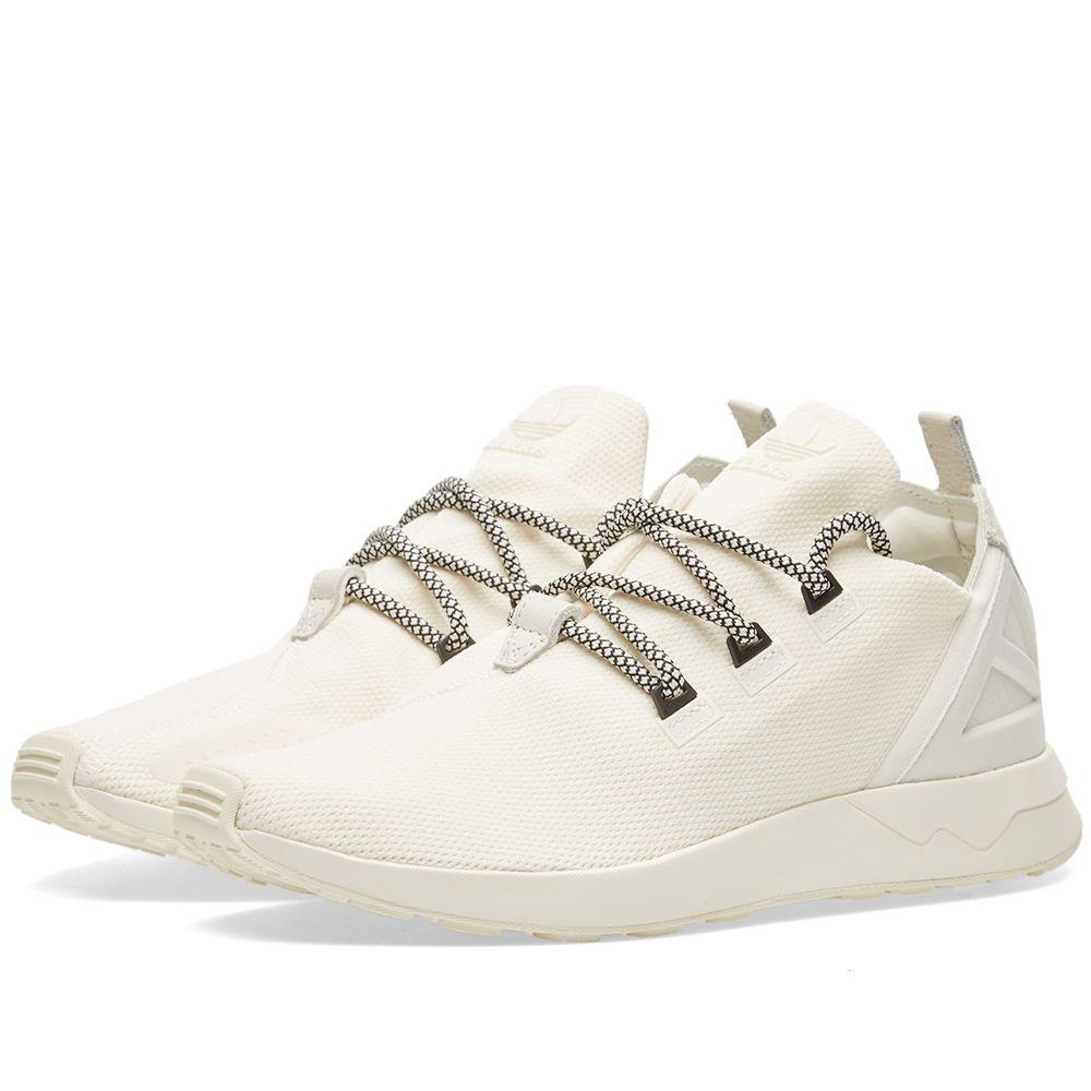 aafb91cbf656 Adidas ZX Flux ADV X Off White   Black