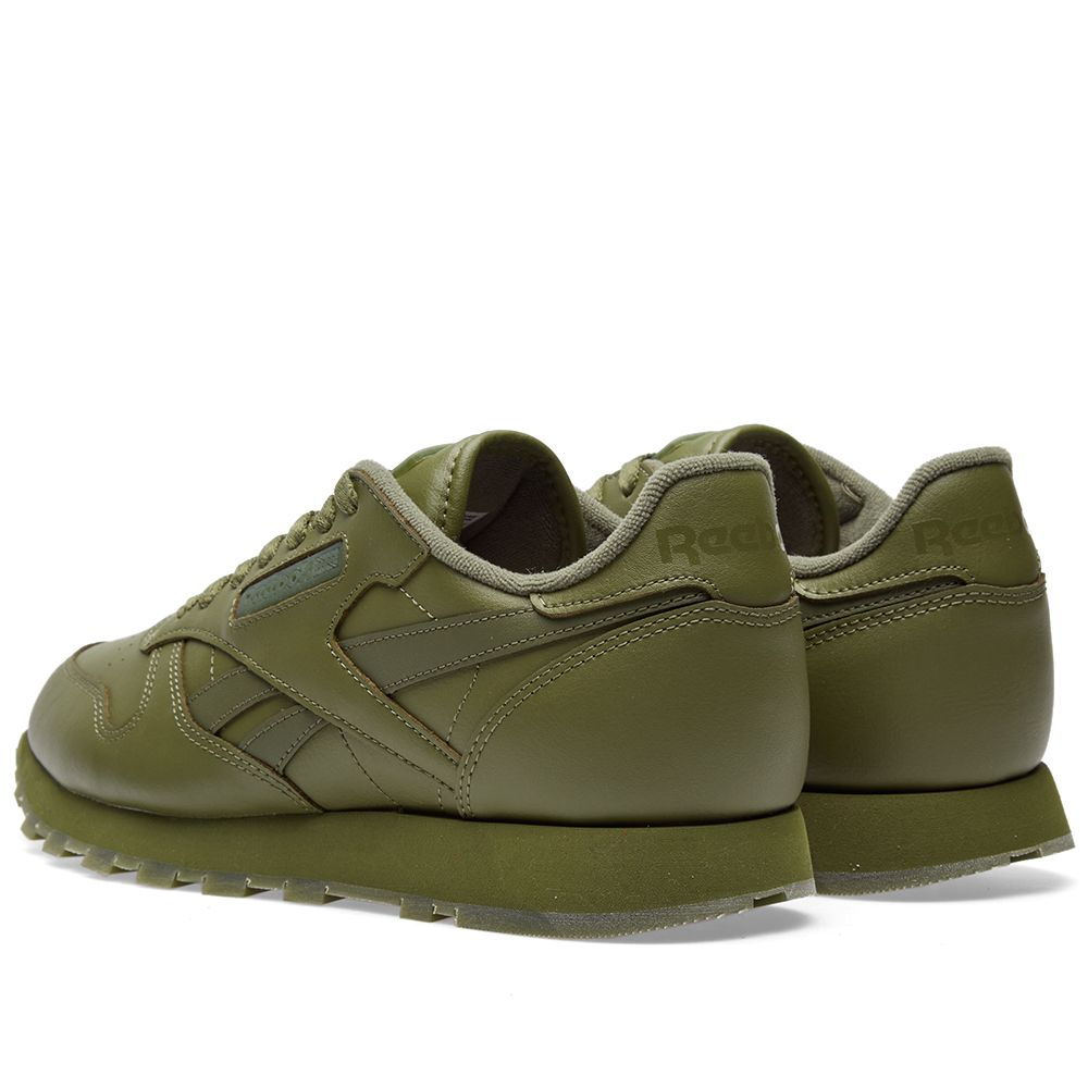 31b182b63c5 Reebok Classic Leather Solids Canopy Green