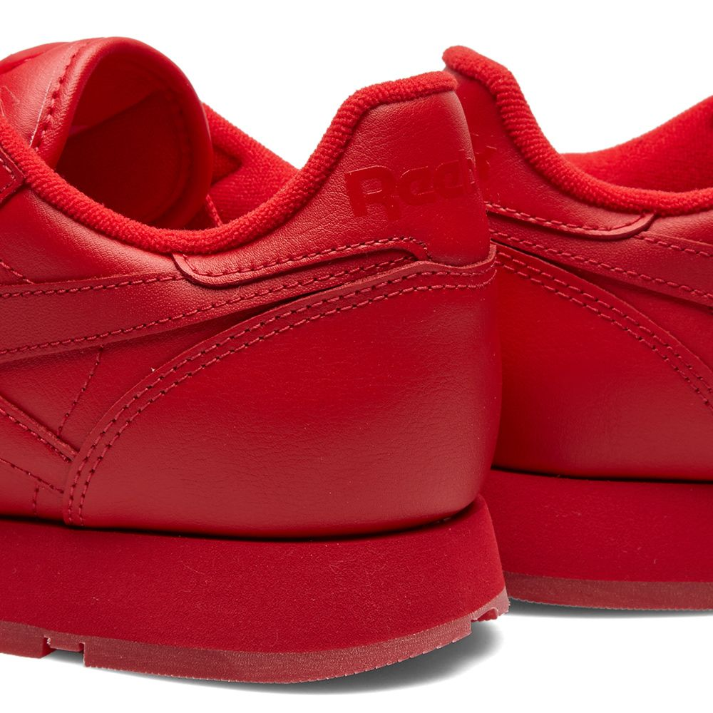 7def457f626 Reebok Classic Leather Solids Scarlet