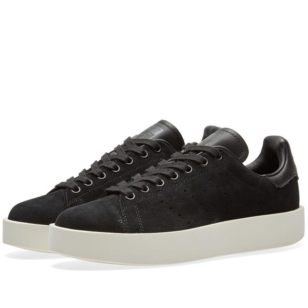 Adidas Stan Smith Bold W Core Black  a9572d73d1a