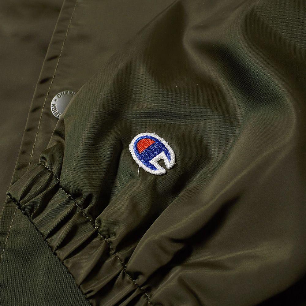 f359a4ecd24f Champion Reverse Weave Vintage Coach Jacket Olive