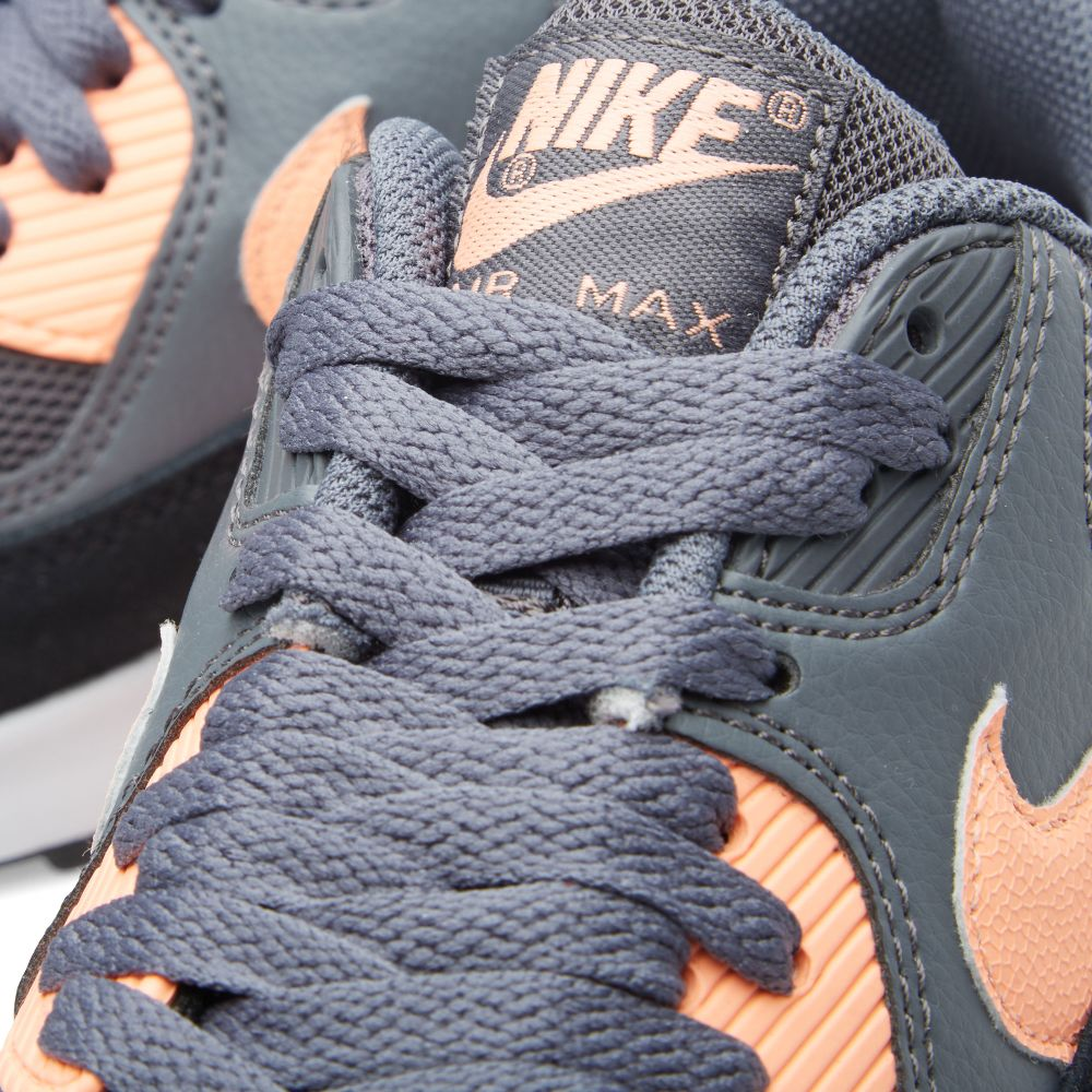 Nike W Air Max 90 Essential. Dark Grey   Sunset Glow. £97 £49. image fbeb97f4ad