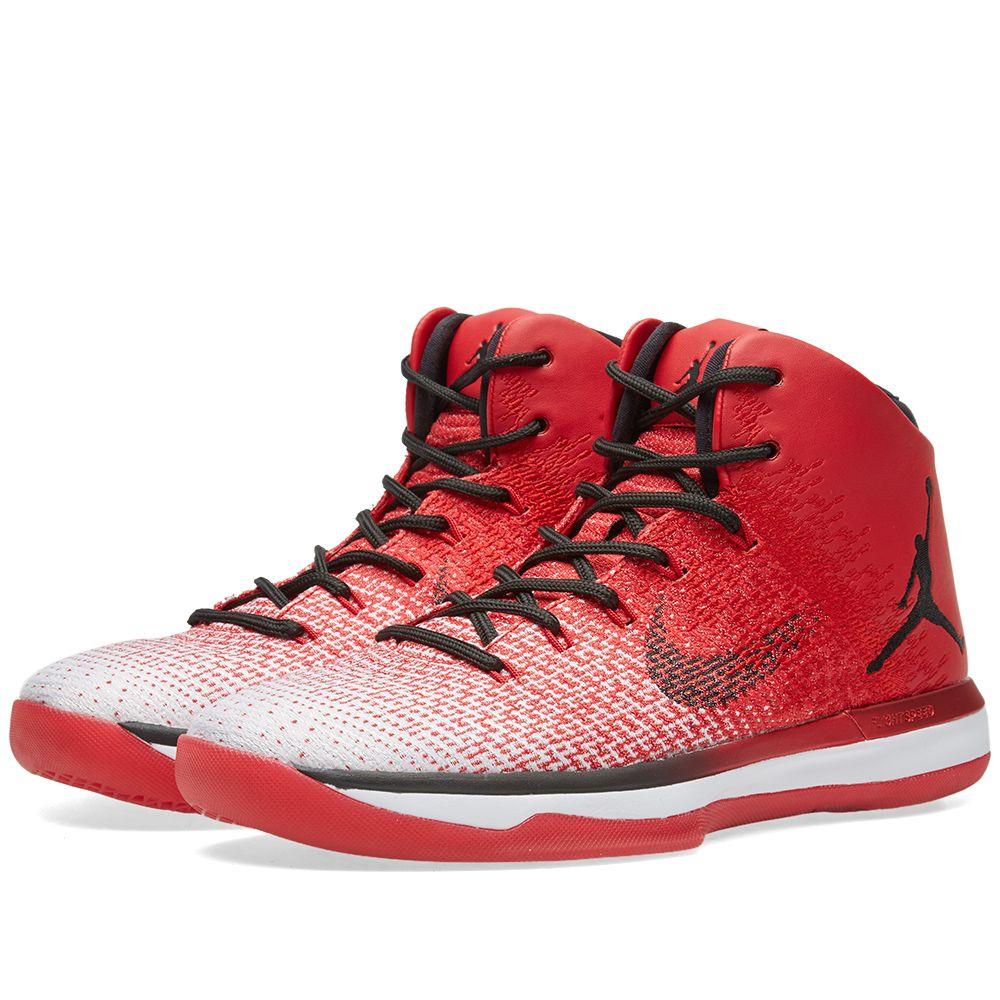 Nike Air Jordan XXXI  Chicago  University Red   Black  9f044baae