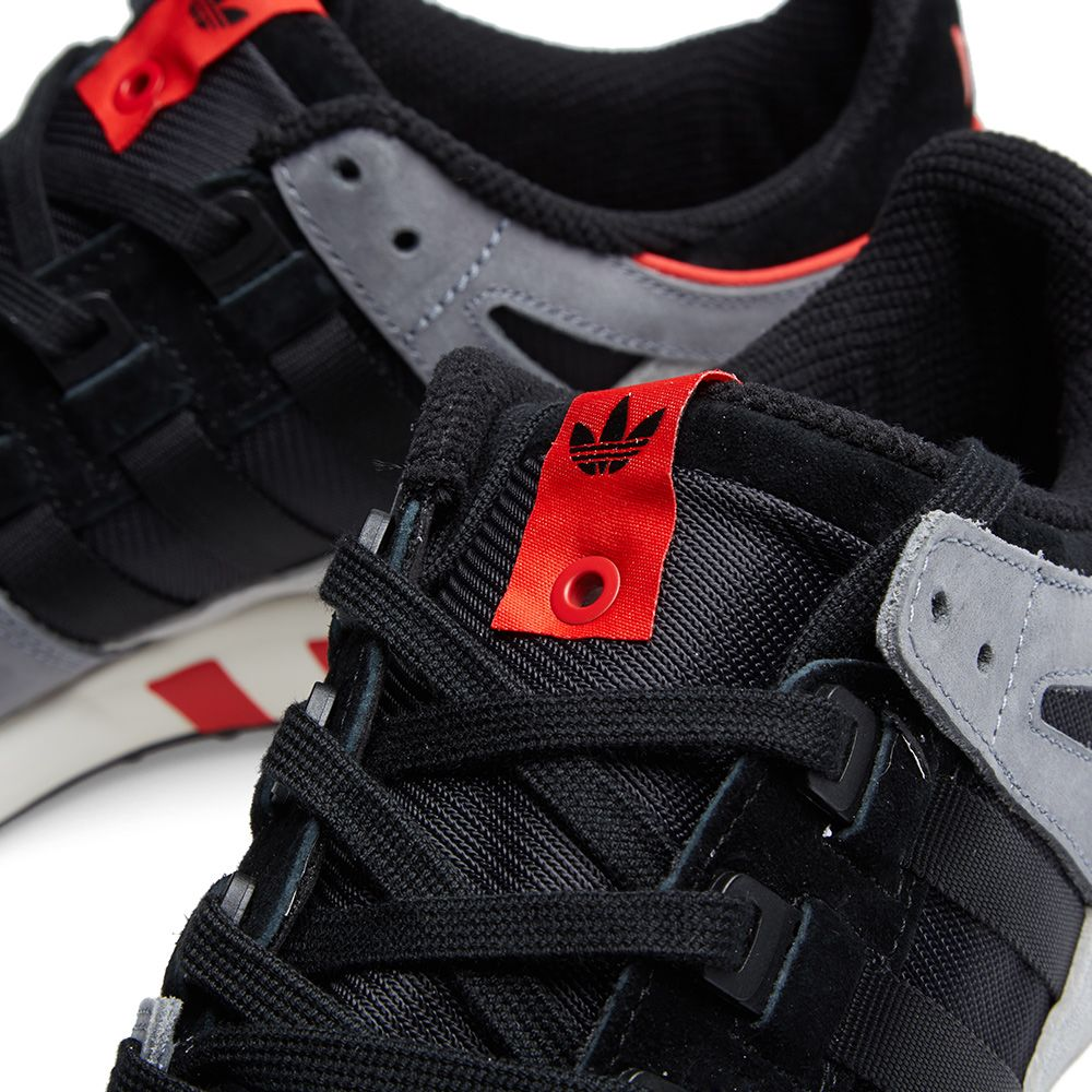 best sneakers bef24 c6a29 Adidas Consortium x Solebox EQT Running Guidance 93. Black, Red  Stone.  145. Plus Free Shipping. image