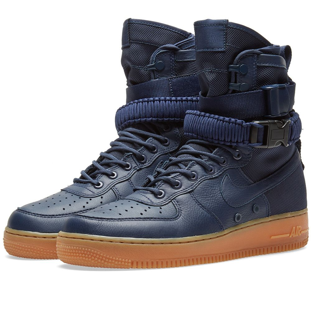 4d3ce8755b46 Nike SF Air Force 1 Boot Midnight Navy
